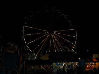 Redfest ferris wheel