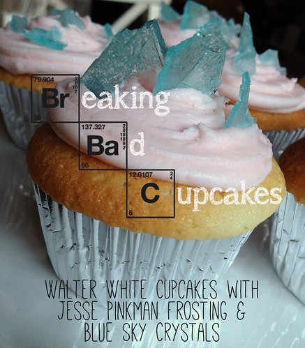 Breaking Bad Cupcake by Heather Says