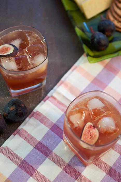 Fig Rum Swizzle