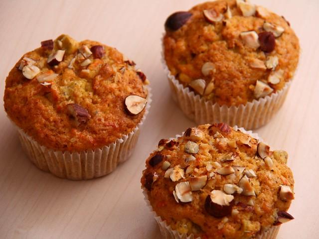 Muffin alla Carota Bimby