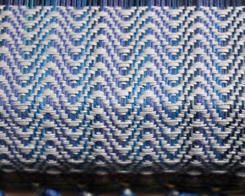 Ocean Towels - Weaving Closeup