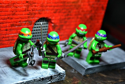 LEGO Teenage Mutant Ninja Turtles