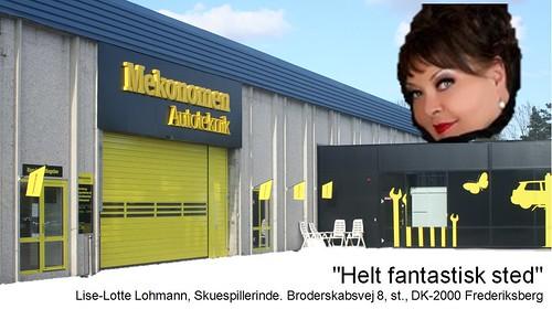 Lise-Lotte Lohmann: anbefaling af Mekonomen Autoteknik - ES Motor