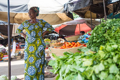 Martine Broue says that while the cost of other goods have gone up, her vegetables prices have not. Credit: Marc-André Boisvert/IPS
