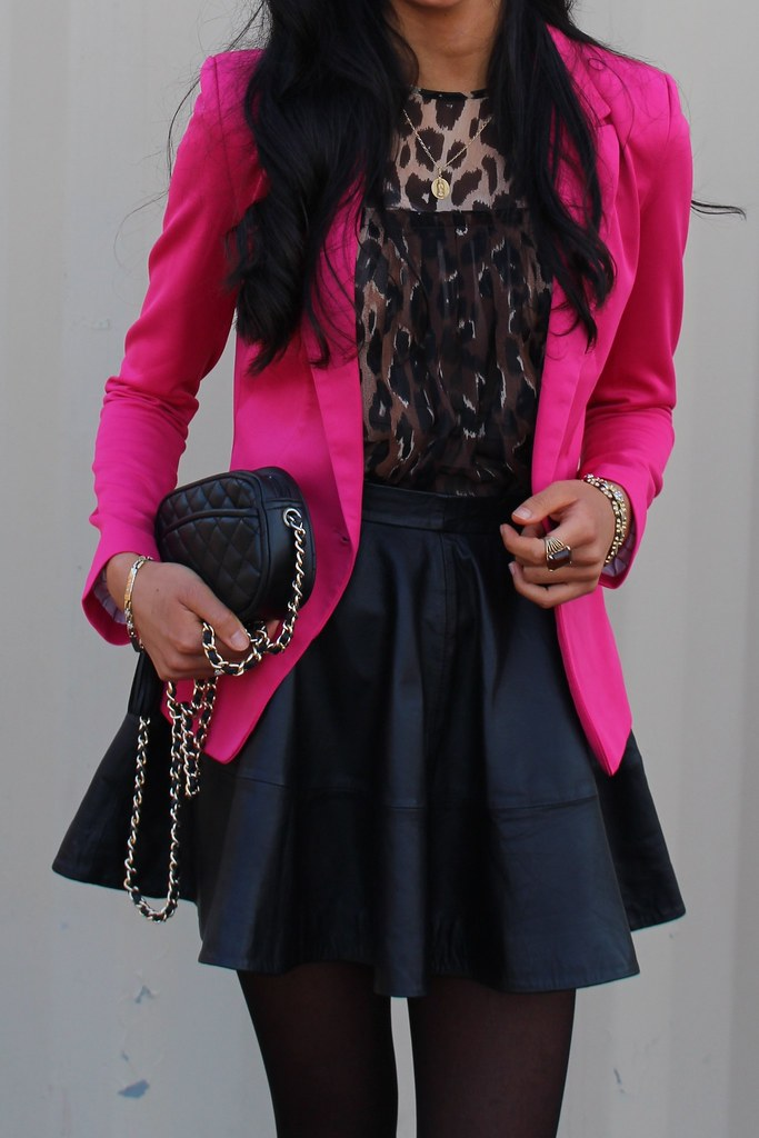 Pink Blazer and Leopard Print 3