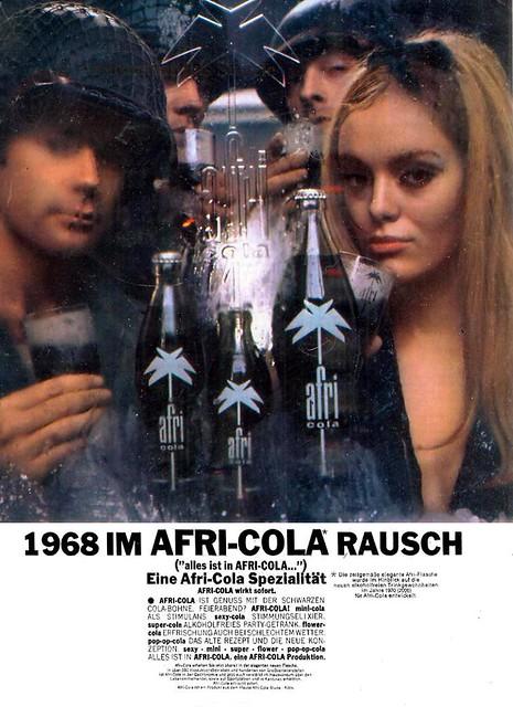 Wilp (Charles, DE - AD Ph) 1968 1968 im Afri-Cola Rausch (Afri Cola GmbH Köln) Anzeige