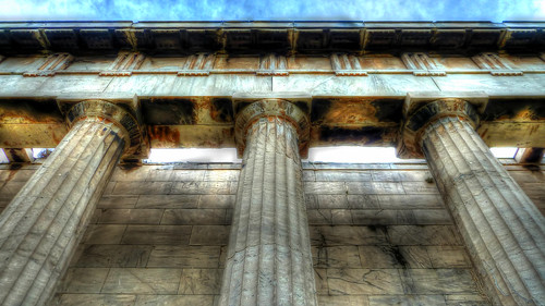 Temple of Hephaestus Part, Ancient Agora, Athens, Greece