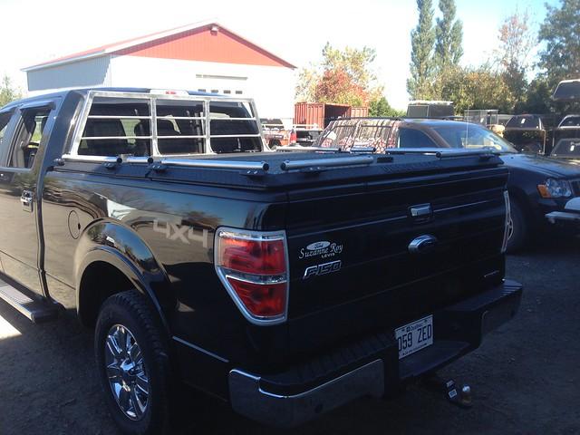 F 150 With Heavy Duty Truck Bed Cover Amp Custom Headache