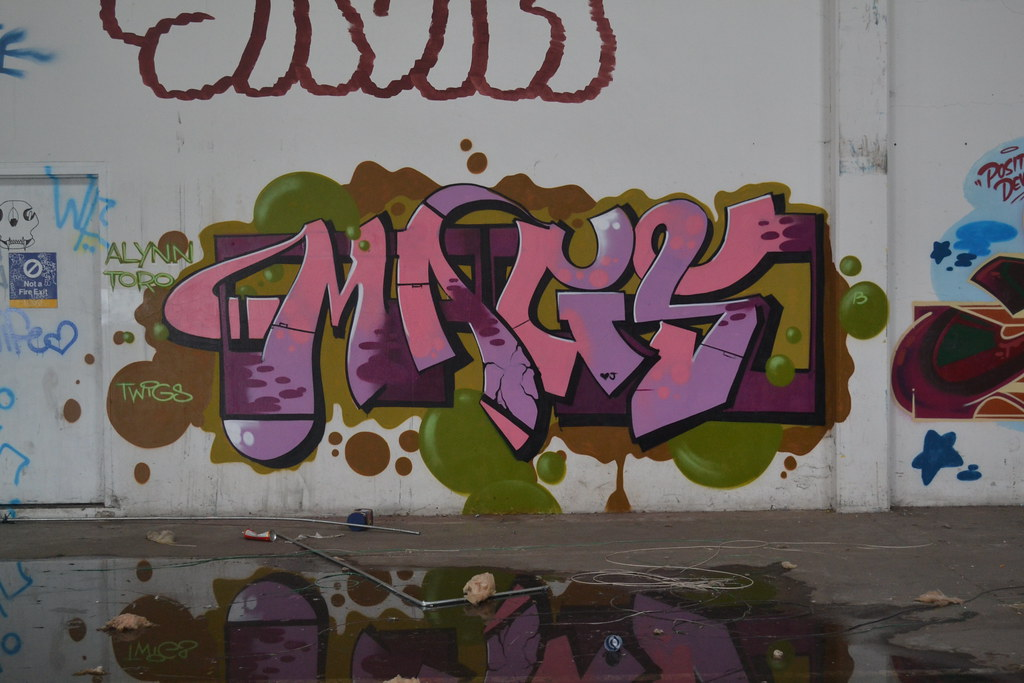 MAGS, Graffiti, Oakland, Chill Spot