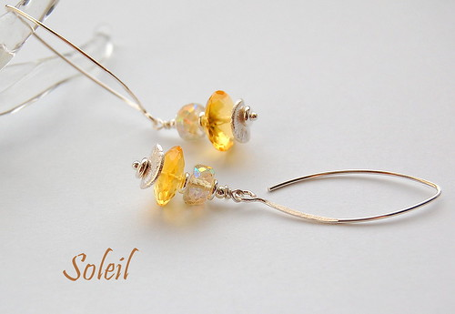 Soleil Earrings by gemwaithnia