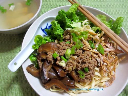 Bak Chor Mee (Mince Pork Noodles)