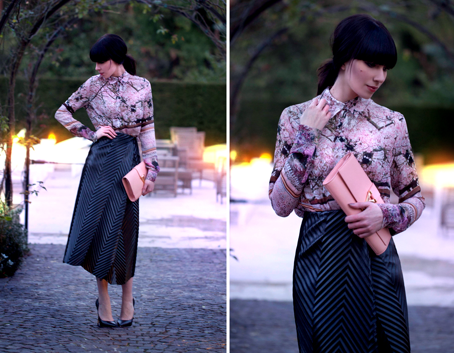 Firenze4Ever Luisaviaroma Saint Laurent YSL Mary Katrantzou Casadei Outfit Stylelab CATS & DOGS Berlin fashion blog 3