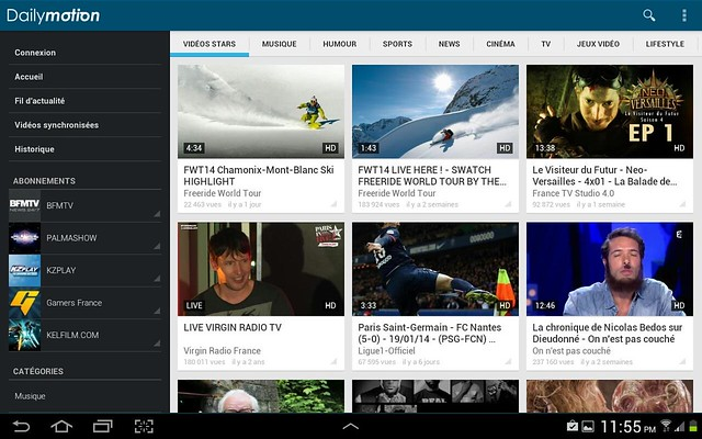 Dailymotion version 4.0