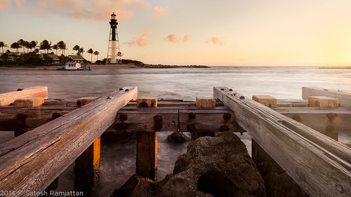 lighthouse sunrise landscape jetty carlzeiss satesh hillsboroinlet zeiss18mm peaceinart
