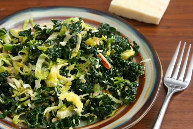 brussels sprouts kale salad 11