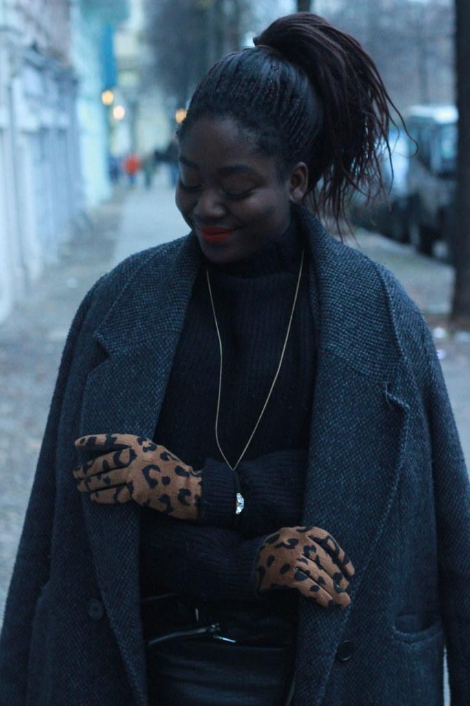 Lois Opoku Winter outfit leopard lisforlois