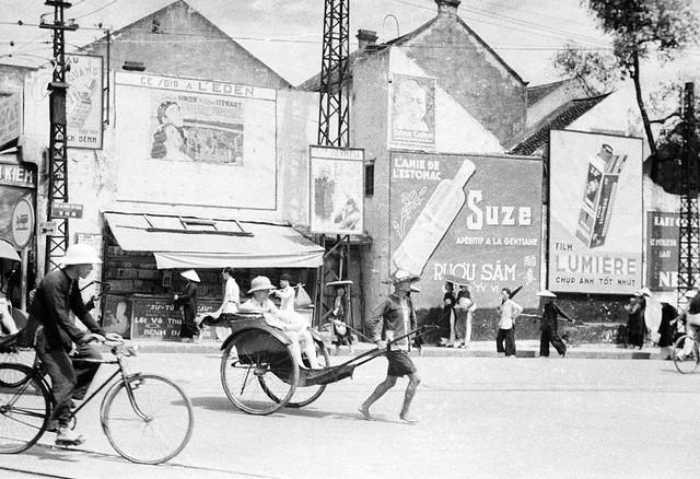 HANOI  1940 - Rue du Pont-en-Bois. Phố Cầu Gỗ