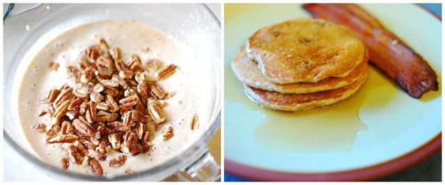 oatmeal banana nut pancakes