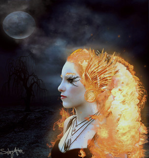 Flaming Hair