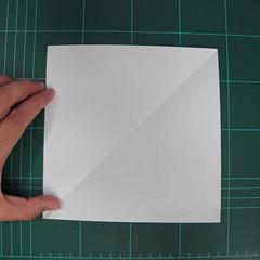 วิธีพับกระดาษเป็นรูปปลาแซลม่อน (Origami Salmon) 002
