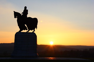 Sunset on Robert the Bruce
