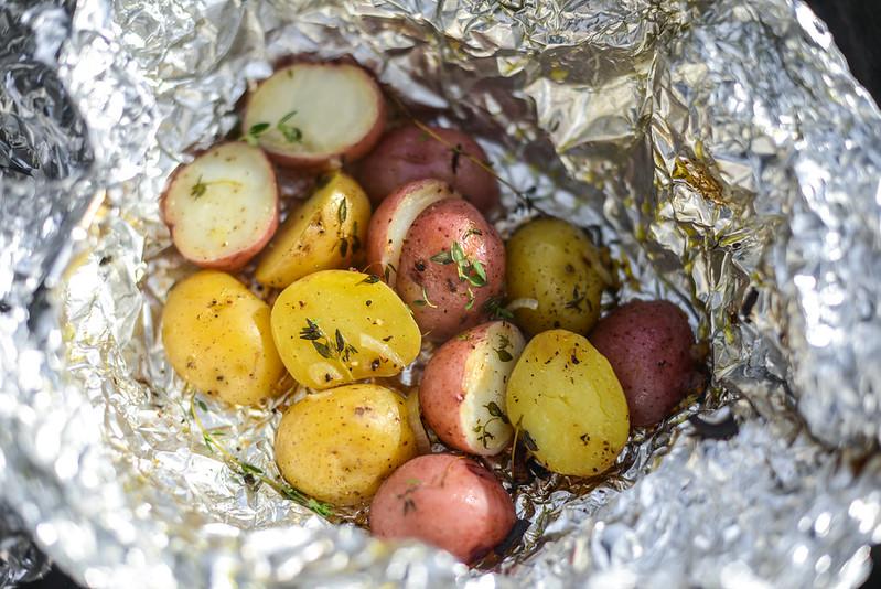 Campfire Potatoes