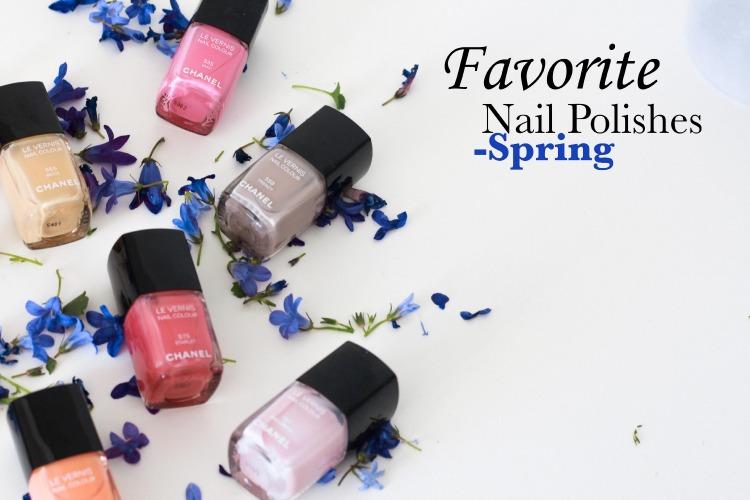 Favorit neglelakker forår
