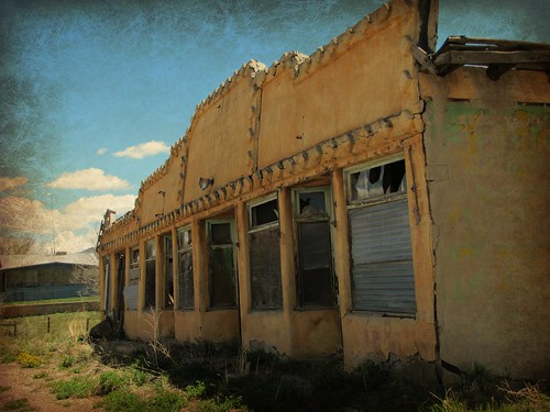 sky newmexico abandoned architecture decay adobe enhanced smalltown architecturaldetails tierraamarilla
