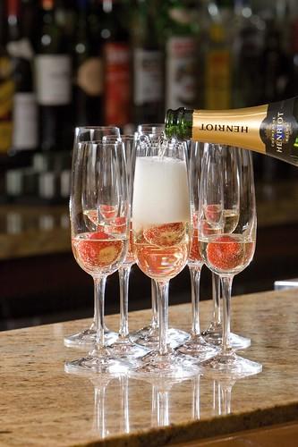 Champagne in Bohemia Bar