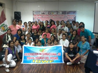 2014-3-28~30 Domestic Workers Workshop, Peru
