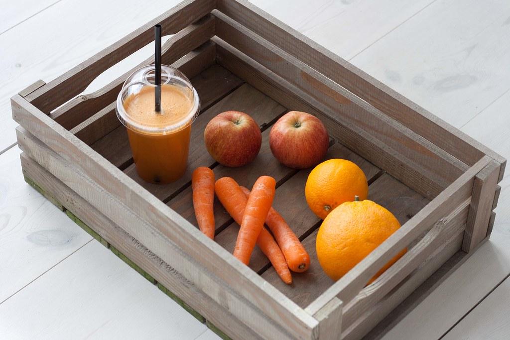 Gulerodsjuice med æble og appelsin (5)