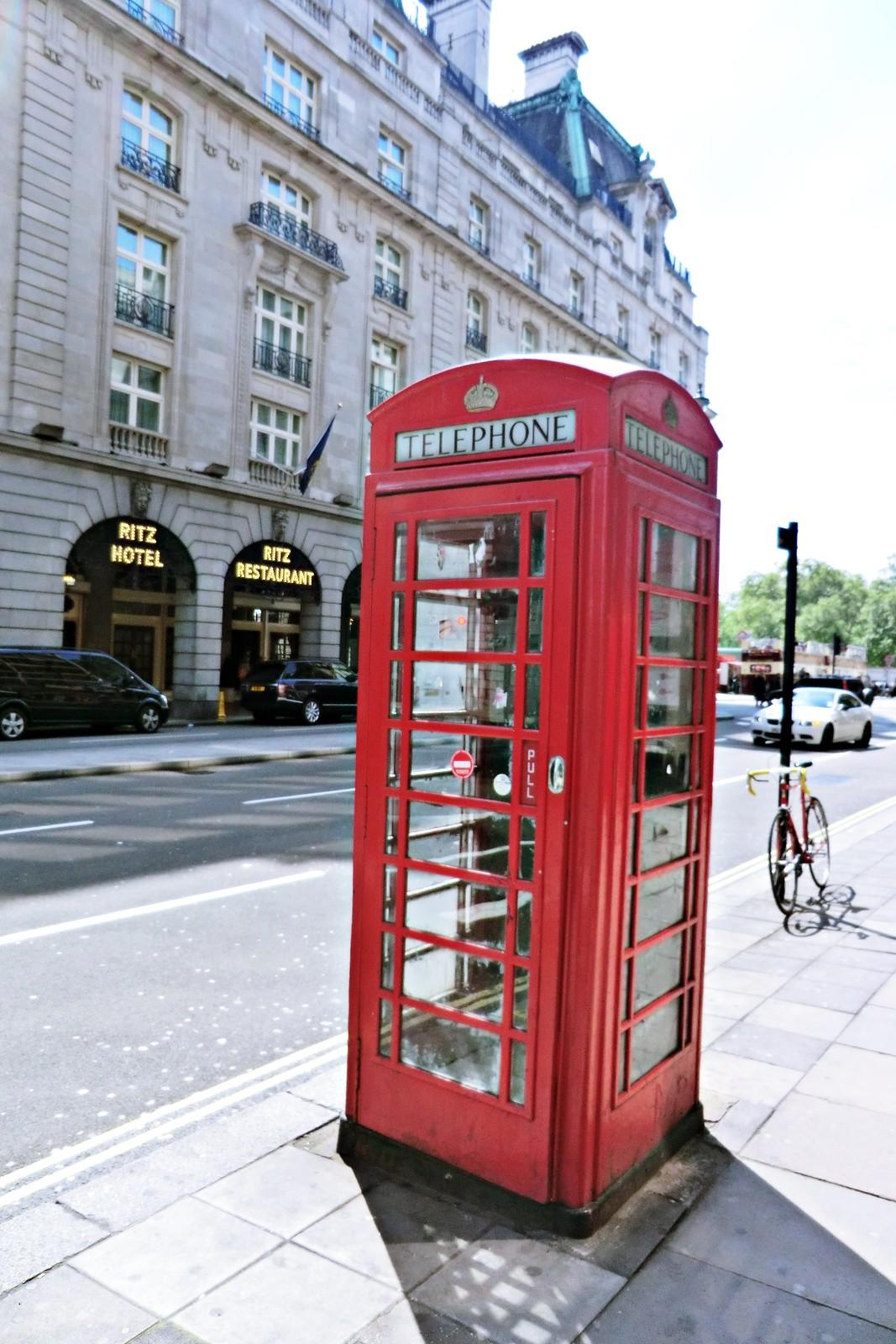 Telephone Box up Picadilly road