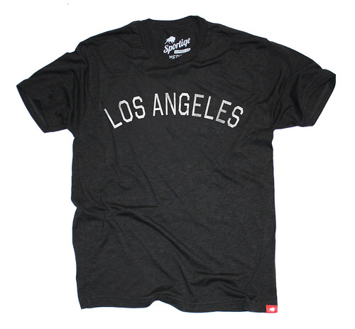 Vintage Los Angeles T-Shirt By Sportiqe Apparel