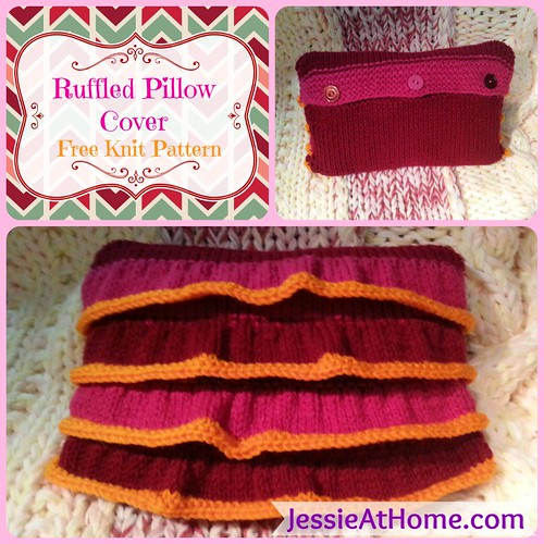 Free-Knit-Pattern-Ruffled-Pillow-Cover-Square