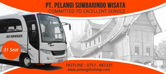 Rental Bus Terbaru 31 Seat Padang