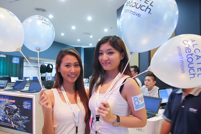 ALCATEL ONETOUCH open First Concept Store in Malaysia