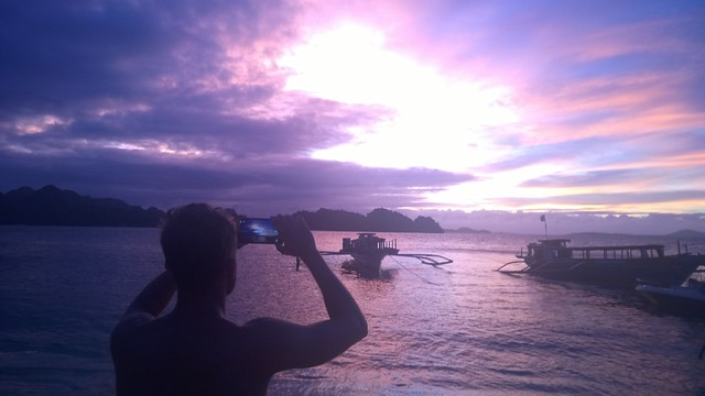 Caramoan paradise captured in Lumia
