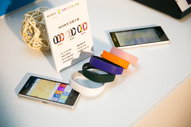 Sony 智慧手環 SmartBand SWR10, 24HR 精彩點滴,完美紀錄「型」動生活! @3C 達人廖阿輝