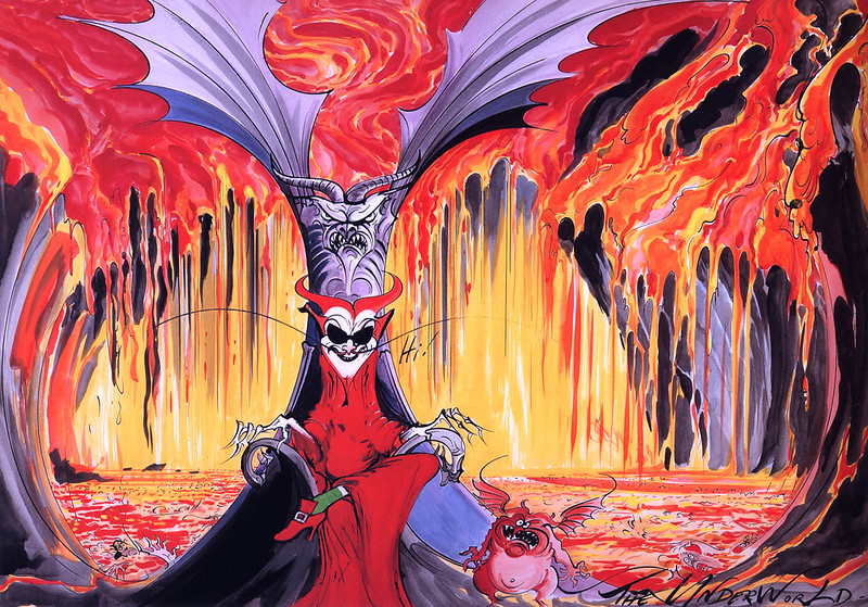 Gerald Scarfe - Hercules Conceptual Paintings 09