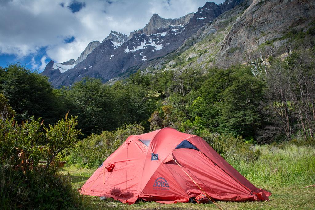 Grey Campsite - Patagonia 9 Day Paine Circuit