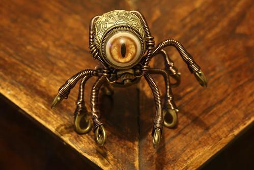 Steampunk Octopus Minion