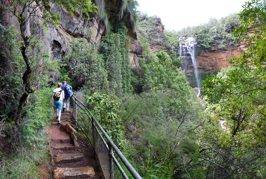National Pass - Wentworth Falls - Blue Mountains
