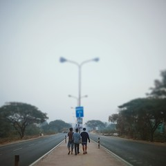 5am. Somewhere on the Belgharia Expressway.