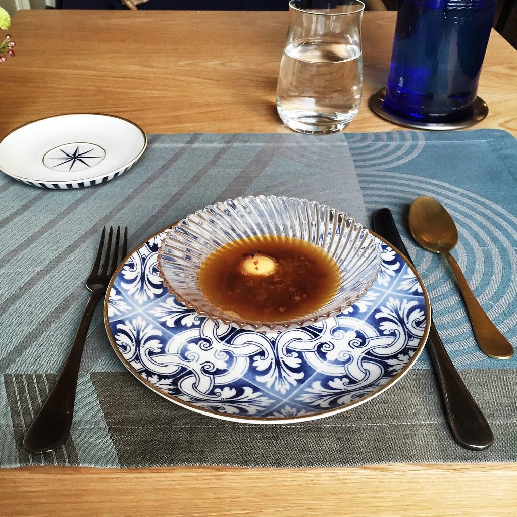Sopa castellana al estilo Mistura