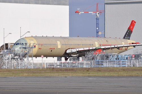 MSN5000 - A350 Static Test Frame
