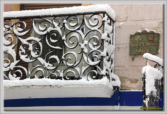 7 Primera nevada en Briviesca 2015