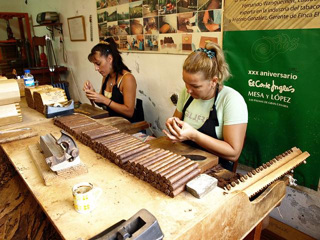 Cigar Rolling, La Palma
