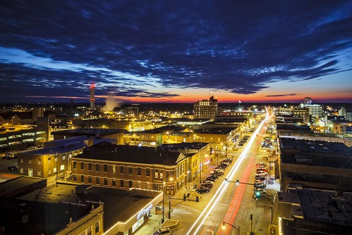 """downtown """"The Roof"""" Missouri Columbia """"Columbia Missouri"""" Notley """"Notley Hawkins"""" 10thavenue http://www.notleyhawkins.com/ """"Missouri Photography"""" """"Notley Hawkins Photography"""" """"Boone Bounty"""" BoCoMo """"Boone County Missouri"""" Winter 2015 January """"blue hour"""" """"The Blue Hour"""" architecture """"Long Exposure"""" night nocturne evening sunset"""