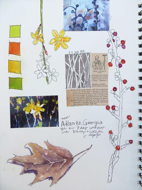 from my sketchbook ~ georgia