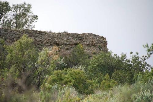 Primeras estribaciones del castillo
